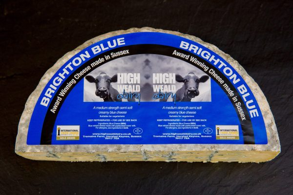 High Weald Dairy Brighton Blue half wheel 1.5kg