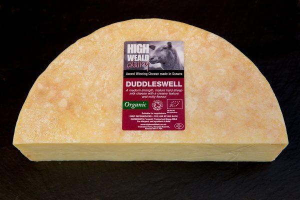 High Weald Dairy Duddleswell half wheel 1.5kg