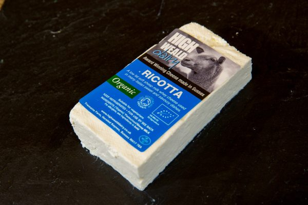 High Weald Dairy Ricotta 150g slice