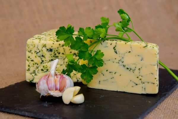 High Weald Dairy Sussex Marble Herb and Garlic